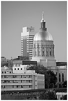 Georgia Capitol. Atlanta, Georgia, USA ( black and white)