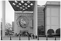 World of Coca-Cola (R). Atlanta, Georgia, USA ( black and white)