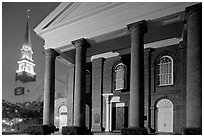 First Baptist Church, where the Confederacy was announced. Columbia, South Carolina, USA ( black and white)