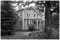 Childhood home of Woodrow Wilson. Columbia, South Carolina, USA ( black and white)