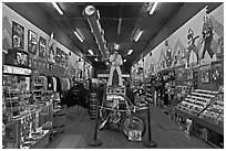 Inside Sun record company store. Nashville, Tennessee, USA ( black and white)