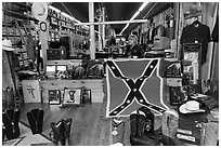 Country apparel store. Nashville, Tennessee, USA (black and white)