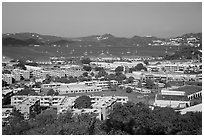 Charlotte Amalie. Saint Thomas, US Virgin Islands ( black and white)