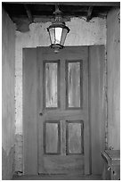 Door, Old Tucson Studios. Tucson, Arizona, USA ( black and white)
