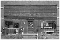 Post office, Rico. Colorado, USA ( black and white)