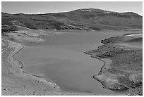 Cebolla Basin, Curecanti National Recreation Area. Colorado, USA ( black and white)