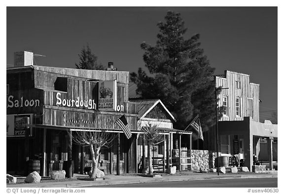 Saloon on main street, Beatty. Nevada, USA