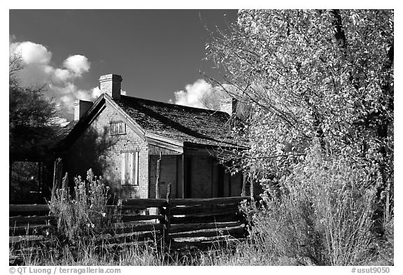 Old house, Grafton. Utah, USA