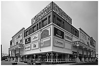 Thien Son Plaza, Phu My Hung, district 7. Ho Chi Minh City, Vietnam ( black and white)