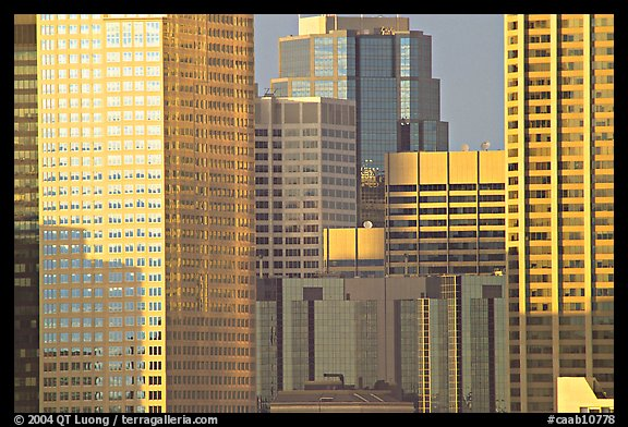 High-rise buildings. Calgary, Alberta, Canada (color)