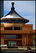 Chinese Cultural center. Calgary, Alberta, Canada (color)