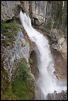 Panther Falls. Banff National Park, Canadian Rockies, Alberta, Canada ( color)