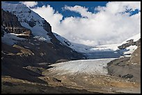 Athabasca Glacier, early morning. Jasper National Park, Canadian Rockies, Alberta, Canada