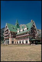 Prince of Wales hotel. Waterton Lakes National Park, Alberta, Canada