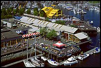 Granville Island and Public Market. Vancouver, British Columbia, Canada (color)
