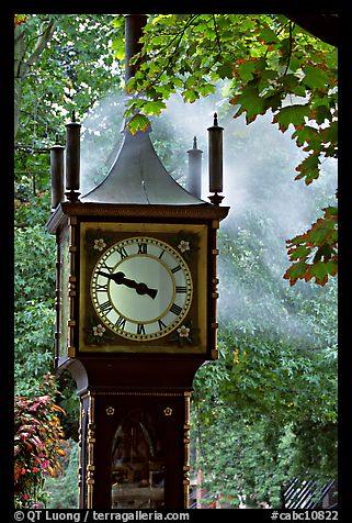Steam clock. Vancouver, British Columbia, Canada (color)