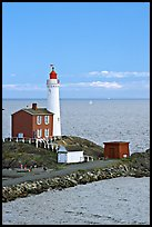 Fisgard Lighthouse National Historic Site. Victoria, British Columbia, Canada