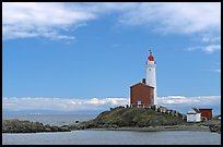 Fisgard Lighthouse. Victoria, British Columbia, Canada (color)