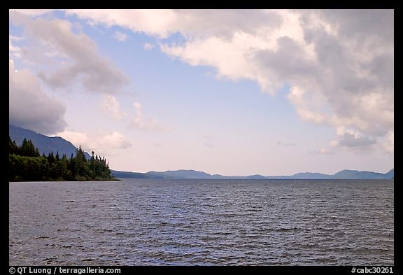 Lake. Vancouver Island, British Columbia, Canada (color)