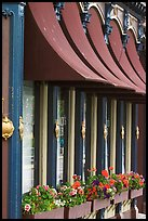 Pub facade detail. Victoria, British Columbia, Canada (color)