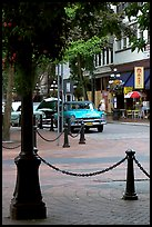 Water Street, Gastown. Vancouver, British Columbia, Canada ( color)
