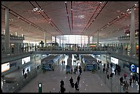Terminal 3, Beijing Capital International Airport. Beijing, China (color)