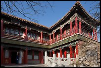Eternal Spring Palace,  Forbidden City. Beijing, China ( color)