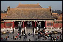 Heavenly Purity Gate, Forbidden City. Beijing, China (color)