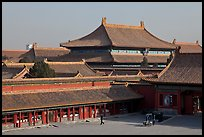Hall of bronzes, imperial palace, Forbidden City. Beijing, China ( color)