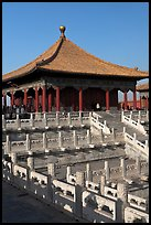 Hall of Central Harmony, Forbidden City. Beijing, China ( color)