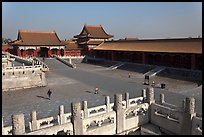 Outer Court, imperial palace, Forbidden City. Beijing, China (color)
