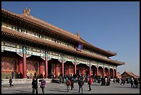 Hall of Supreme Harmony, Forbidden City. Beijing, China (color)