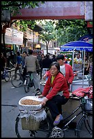 Street vendor in an old alley. Kunming, Yunnan, China ( color)