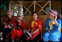 Sani women. Shilin, Yunnan, China