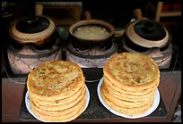 Naxi baba flatbread. Lijiang, Yunnan, China ( color)