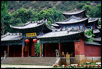 Ming dynasty Wufeng Lou (Five Phoenix Hall). Lijiang, Yunnan, China ( color)