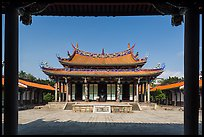 Dacheng Hall, Confuscius Temple. Taipei, Taiwan ( color)