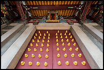 Looking up door of Yi Gate, Confuscius Temple. Taipei, Taiwan (color)