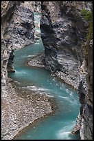 River in marble narrows, Taroko Gorge. Taroko National Park, Taiwan ( color)