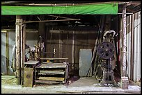 Blacksmith shop on Chinseng Lane. Lukang, Taiwan (color)