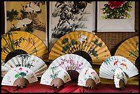 Fans and paintings. Lukang, Taiwan ( color)