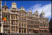 Guildhalls, Grand Place. Brussels, Belgium ( color)