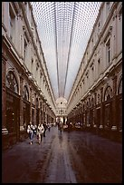 Galeries St Hubert, Europe's first shopping arcade, built in 1846. Brussels, Belgium ( color)