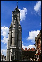 Beffroi, the oldest in the country. Tournai, Belgium