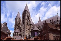 pictures of Notre-Dame Cathedral Tournai