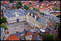 The Burg. Bruges, Belgium ( color)