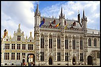 Stadhuis, Belgium's oldest town hall. Bruges, Belgium ( color)