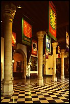 Entrance hall of the Stadhuis. Bruges, Belgium (color)