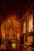Upper Chapel of the Heilig-Bloedbasiliek (Basilica of Holy Blood). Bruges, Belgium ( color)