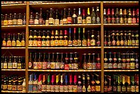Beer bottles. Bruges, Belgium ( color)